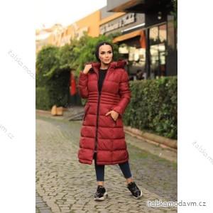 Kabát zimný prešívaný dámsky (46-48-50-52) Turecká Móda PMLB21005/DR
