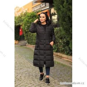 Kabát zimný dámsky nadrozmer (46-48-50-52) TURECKÁ MÓDA PMLB21004/DR