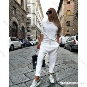 Tepláky dlouhé baggy dámské (UNI S/M) ITALSKÁ MÓDA IMM20815